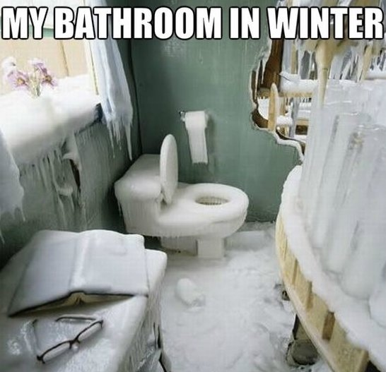 Bathroom Jokes funny-my-bathroom-in-winter-jokes-meme-2014 | the regular guy nyc