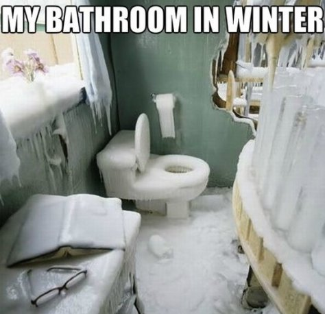 Funny-My-Bathroom-In-Winter-Jokes-MEME-2014