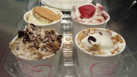 I'll take a flight of puddings to go! Photo credit - Sugar Sweet Sunshine Bakery