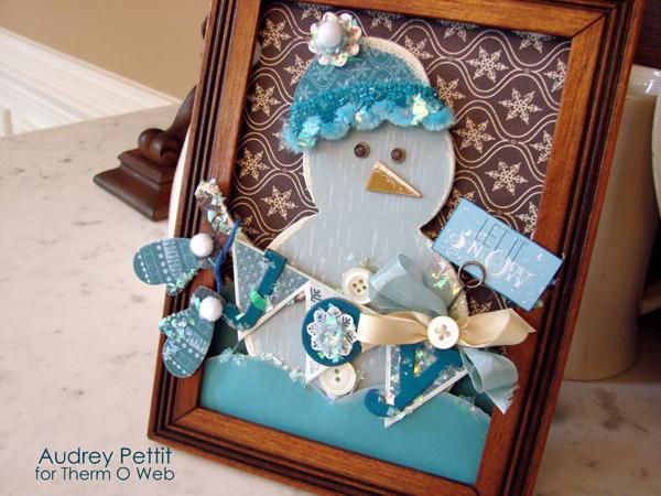 Let It Snow Winter Home Decor by Audrey Pettit