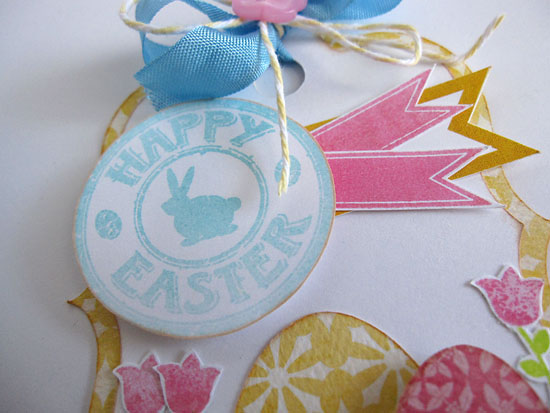 Happy easter tag close by Daniela Dobson