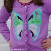 Butterfly Applique Sweater - Featured Project