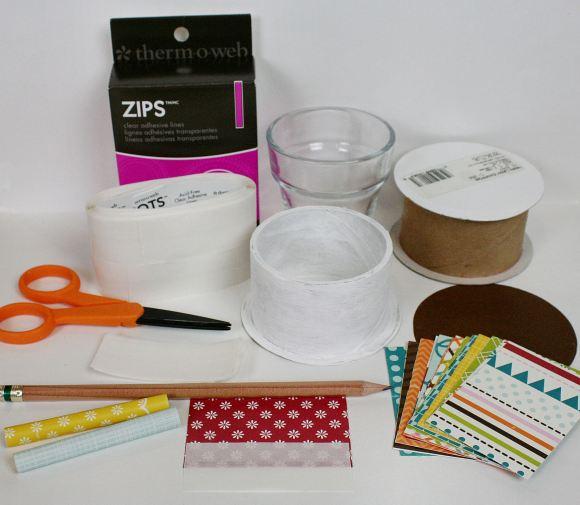 7 2013 ZIPS Rolled Paper Vase 2 PKM