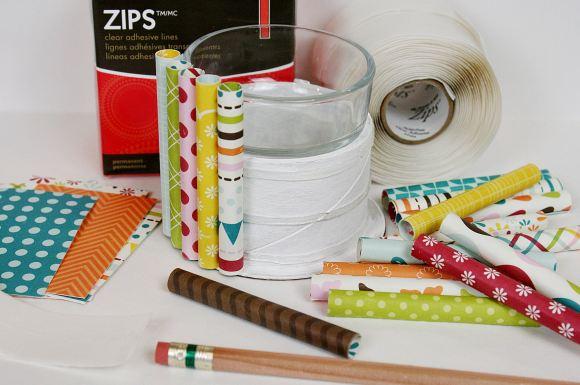 7 2013 ZIPS Rolled Paper Vase 5 PKM