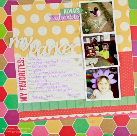 Jen Chesnick- My Parker- Thermoweb