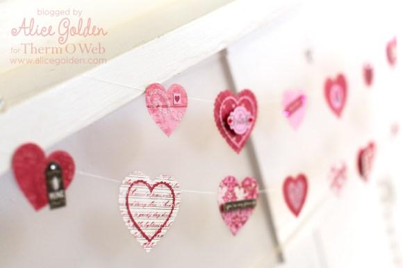 Alice-Golden-Therm-O-Web-iCraft-Valentine-Garland-8
