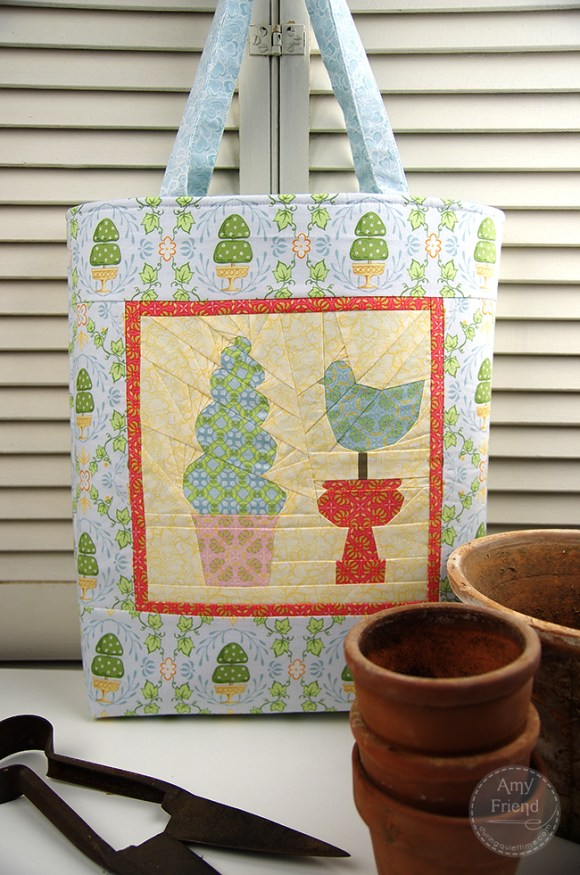 Topiary Bag by Amy Friend