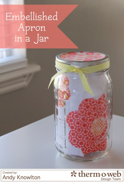 Embellished Apron in a Jar watermark