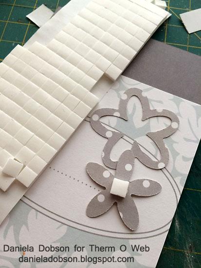 Step 3 3D foam adhesive Therm O Web Daniela Dobson