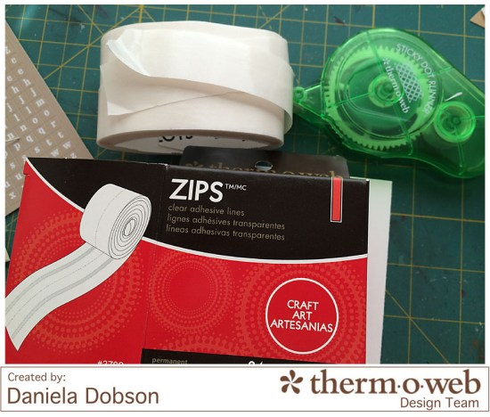 Daniela Dobson Therm O Web Zips Sticky Dot Runner