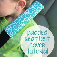Seat Belt Cover Tutorial - Fusible Fleece Week