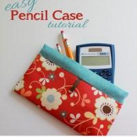 Easy Fusible Fleece Pencil Case Tutorial