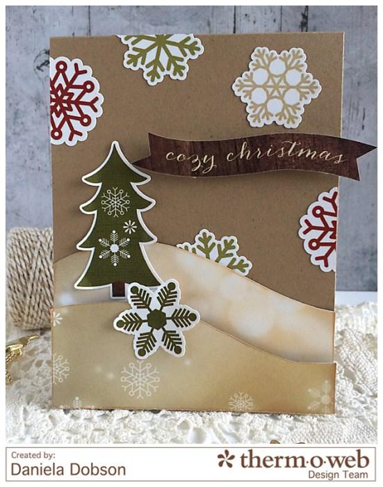 Cozy Christmas by Daniela Dobson Therm O Web