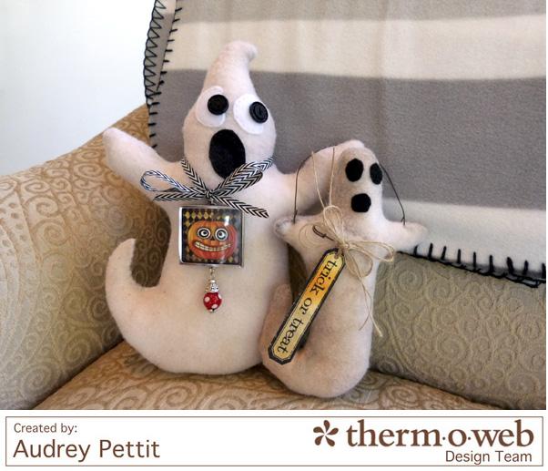 AudreyPettit Thermoweb StitchnSew Ghosts