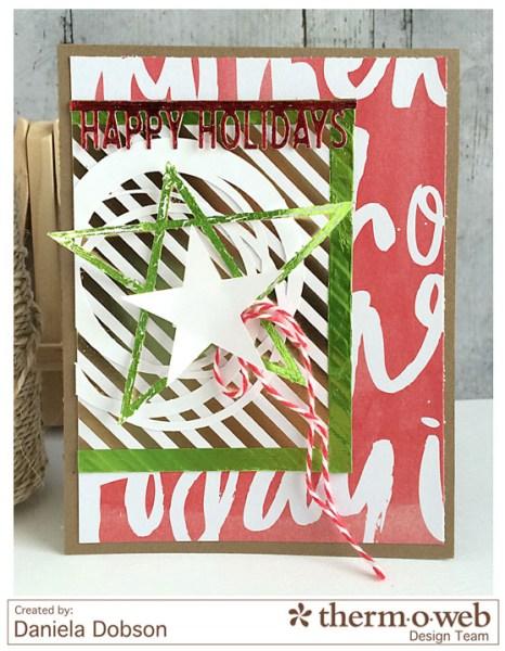 Happy Holidays by Daniela Dobson