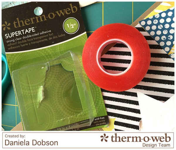 Just a note step 3 by Daniela Dobson for Therm O Web Supertape
