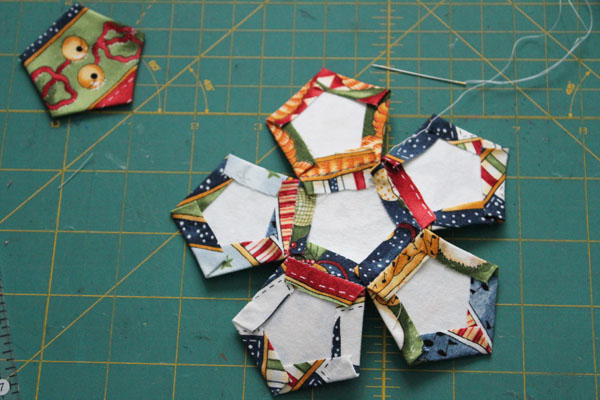 stitch on five sides