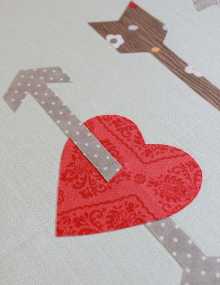heart and arrow pillow tutorial 9