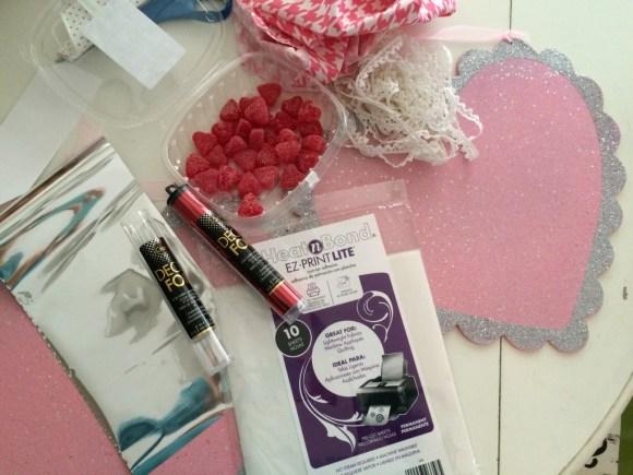 foil valentine craft decofoils