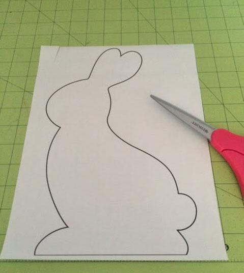 Bunny-pattern-print