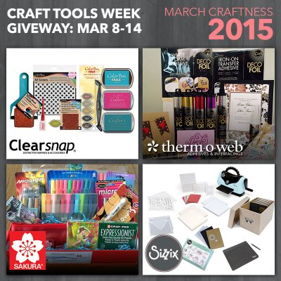Sizzix National Craft Month Giveaway ThermOWeb