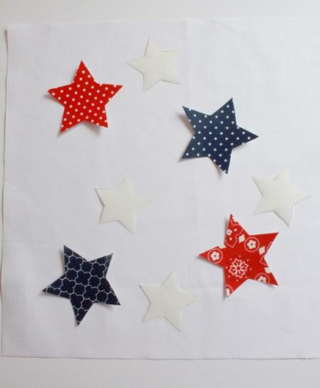 DecoFoil star table topper 6