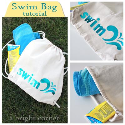 iCraft Deco Foil Swim Bag Tutorial