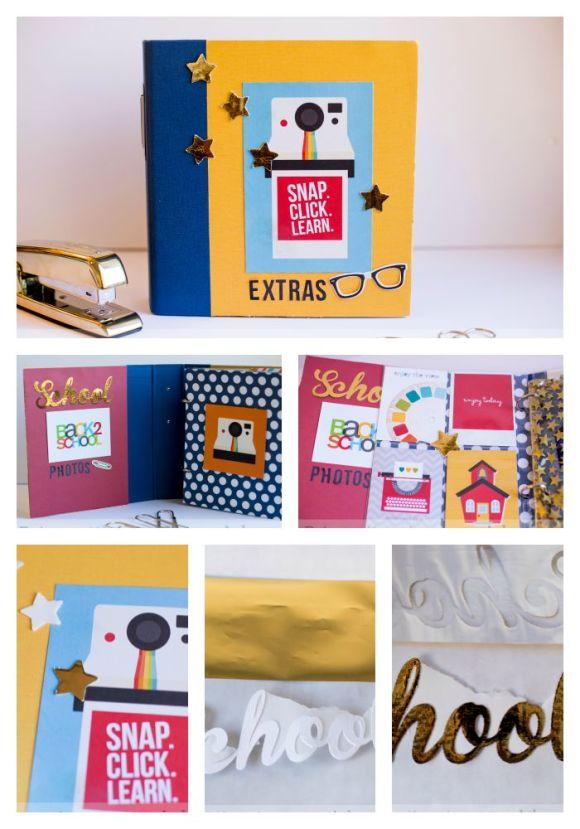 Rebecca Deco Foil School Collage
