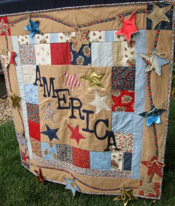 America quilt 2