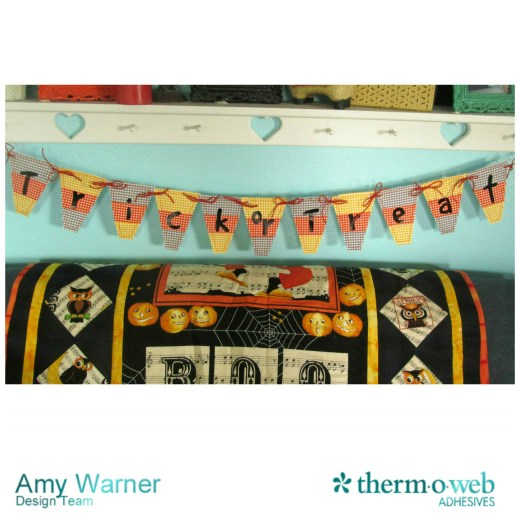 Candy Corn Banner Thermoweb 1