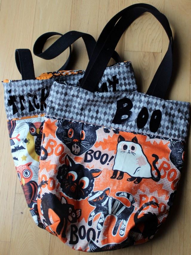 trick or treat bag - boo