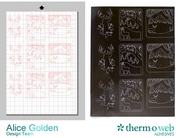 Alice Golden TOW DecoFoil Winter Tags Ad 1