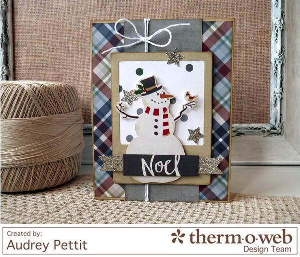 AudreyPettit Thermoweb NoelCard