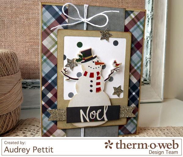 AudreyPettit Thermoweb NoelCard2