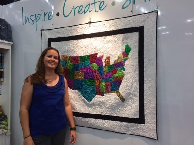Carolina Map Quilt