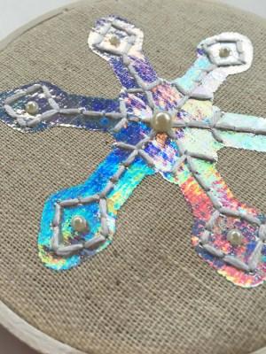 finished flake 2 close up