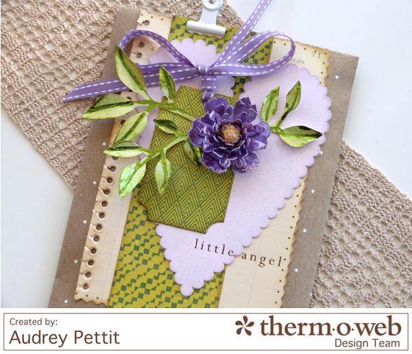 AudreyPettit Thermoweb DecoFoil LittleAngelBag2