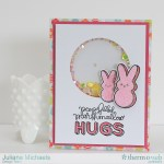 Easter Shaker Box Card Tutorial by Juliana Michaels featuring Therm O Web iCraft Adhesive Sheets