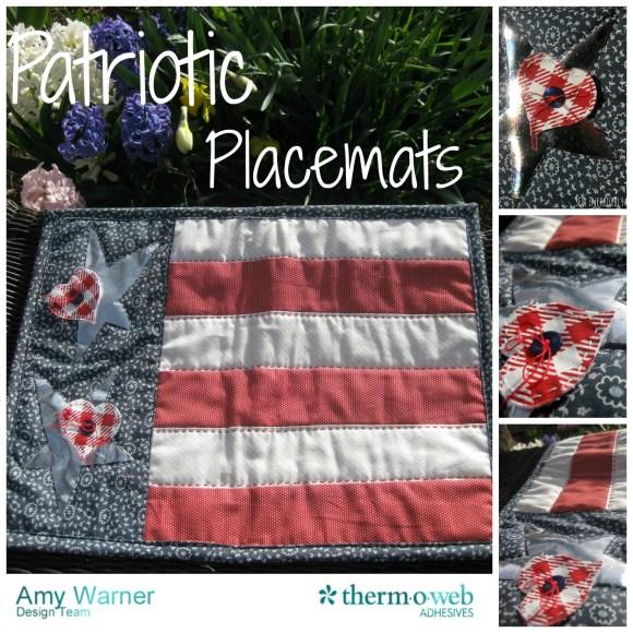 Patriotic Placemats collage