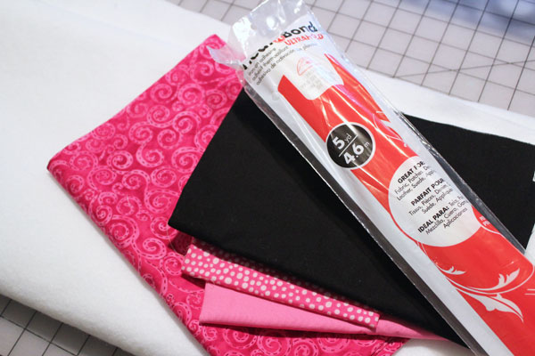 supplies for flamingo tote