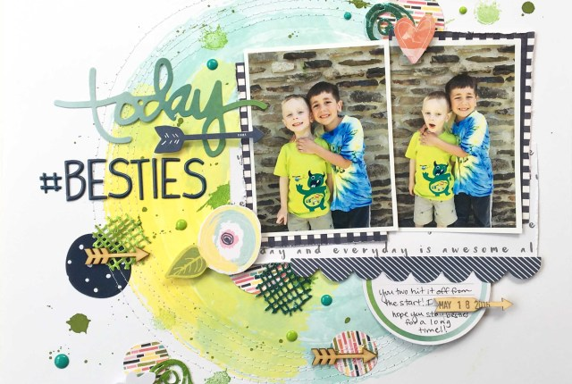 Deco Foil Taylored Expressions Layout