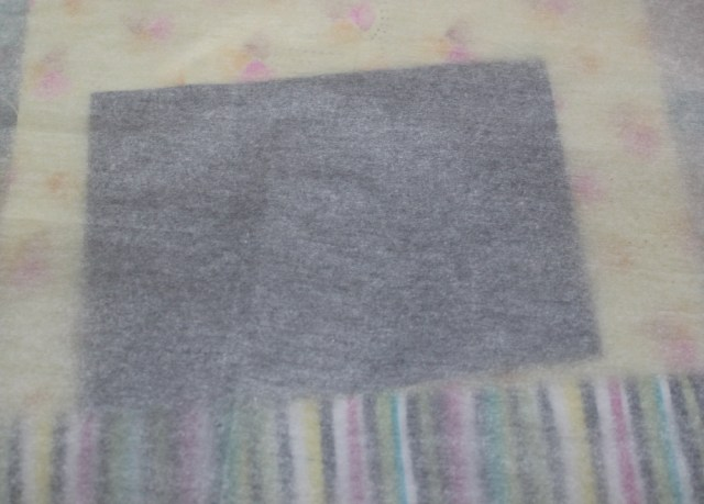 black decofoil with pressing sheet