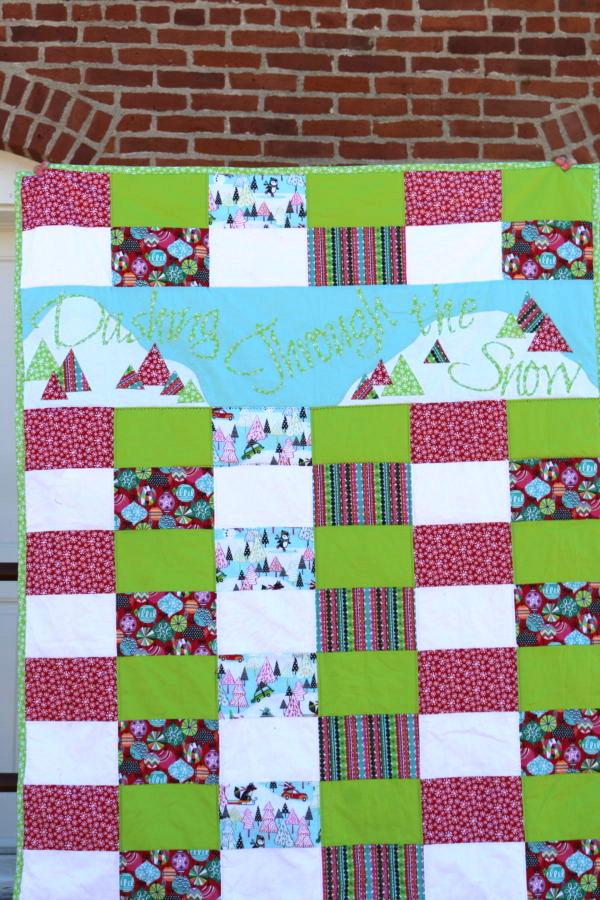 Amy Blend Fabrics Dashing Quilt