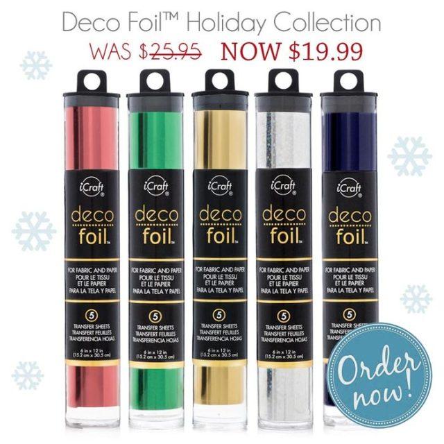 December Deco Foil Promotion Pack
