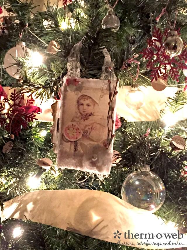 HeatnBond EZ Print Christmas Ornament