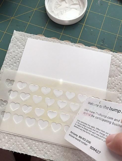 Love card step 1 by Daniela Dobson