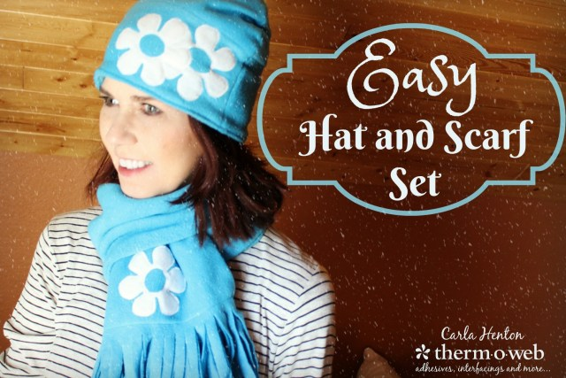 Hat and Scarf Set by Carla Henton