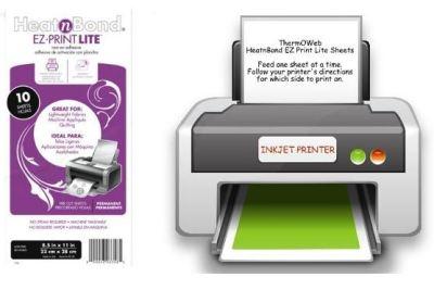 EZ print lite sheets and printer