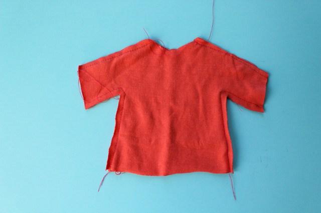 Heat N Bond Soft Stretch Appliqued Doll T-Shirt-2