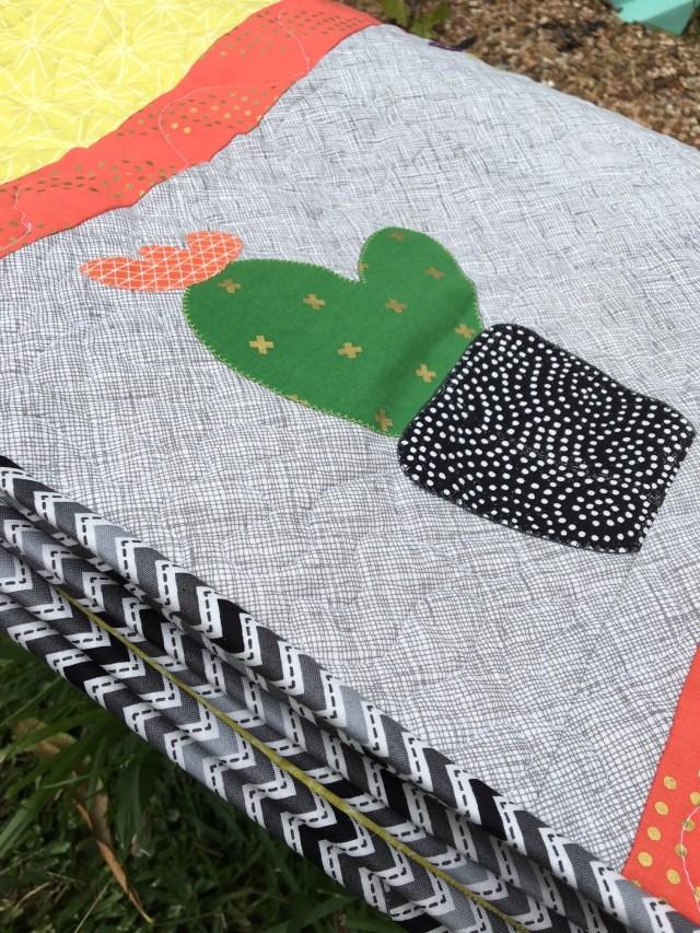 Cactus Quilt by Erin Schlosser